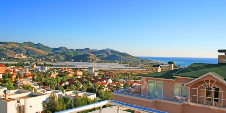 85000 Euro Sea View Apartment For Sale in Alanya 9