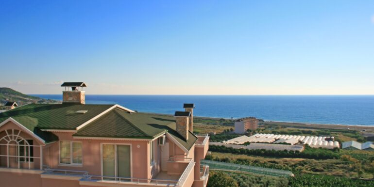 85000 Euro Sea View Apartment For Sale in Alanya 12