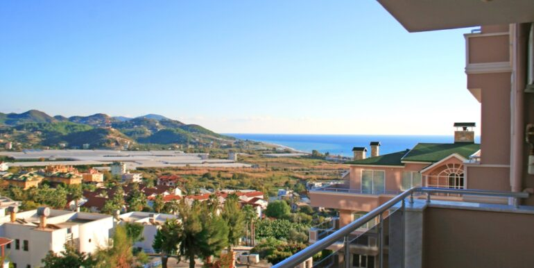 85000 Euro Sea View Apartment For Sale in Alanya 18