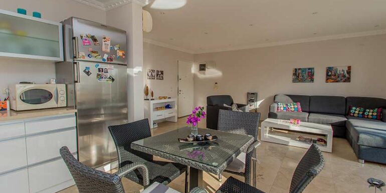 89900 Euro Sea View Apartment For Sale in Alanya 3