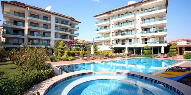 95000 Euro Penthouse For Sale in Alanya Oba 4