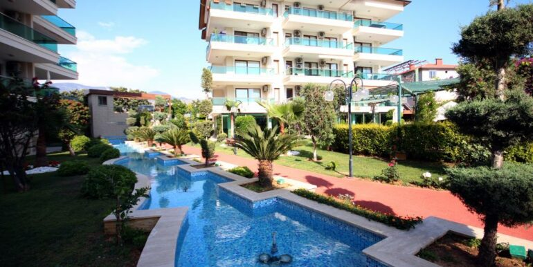 95000 Euro Penthouse For Sale in Alanya Oba 8