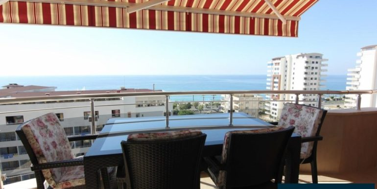 95000 Euro Sea View Apartment for Sale in Alanya 1