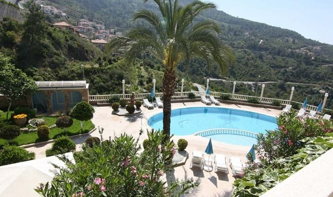 95000 Euro Sea View Penthouse For Sale in Alanya 2