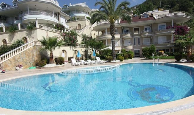 95000 Euro Sea View Penthouse For Sale in Alanya 3