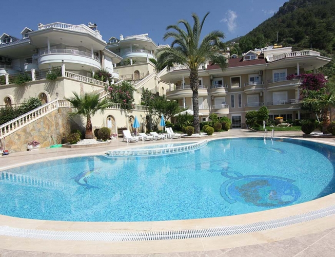 95000 euro Sea View Penthouse te koop in Alanya