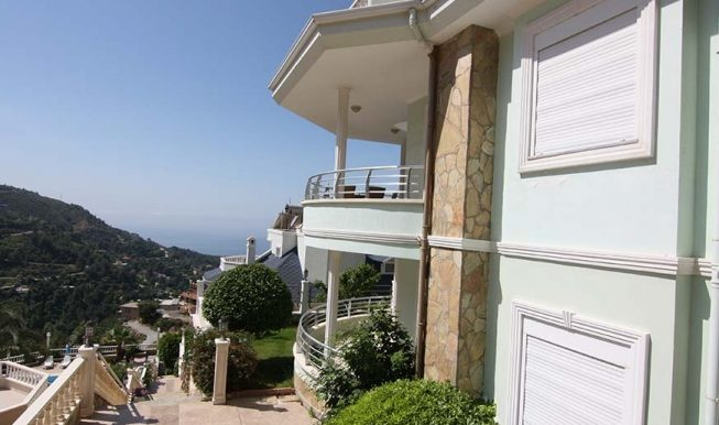95000 Euro Sea View Penthouse For Sale in Alanya 4