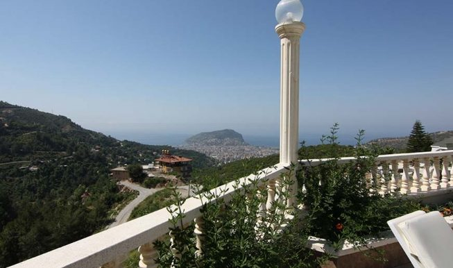 95000 Euro Sea View Penthouse For Sale in Alanya 5