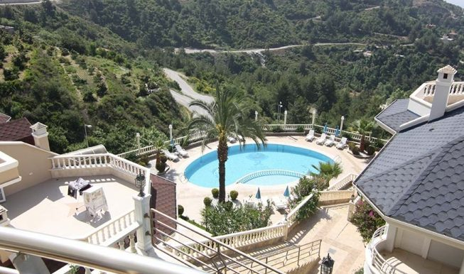 95000 Euro Sea View Penthouse For Sale in Alanya 6