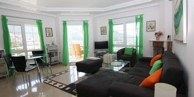 95000 Euro Sea View Penthouse For Sale in Alanya 8