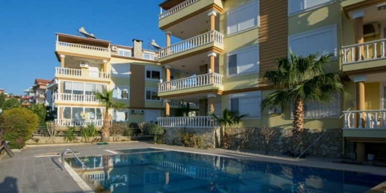 99000 Euro Penthouse For Sale in Alanya 18