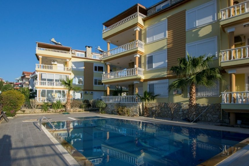 99000 Euro Penthouse For Sale in Alanya