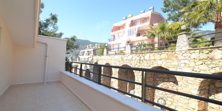 99000 Euro Sea View Penthouse For Sale in Alanya 26