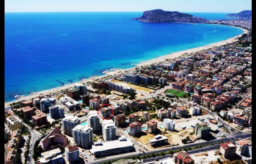 Apartment flats for rent in Oba Alanya Turkey 300 Euro