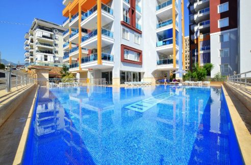 New Apartment For Sale in Turkey Alanya Tosmur 55000 Euro