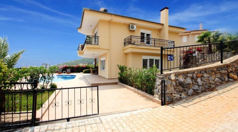 Private Villa Homes for sale in Alanya Oba 139000 Euro 4