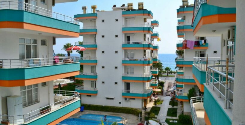 50000 EUR Beach Apartment For Sale in Alanya Mahmutlar
