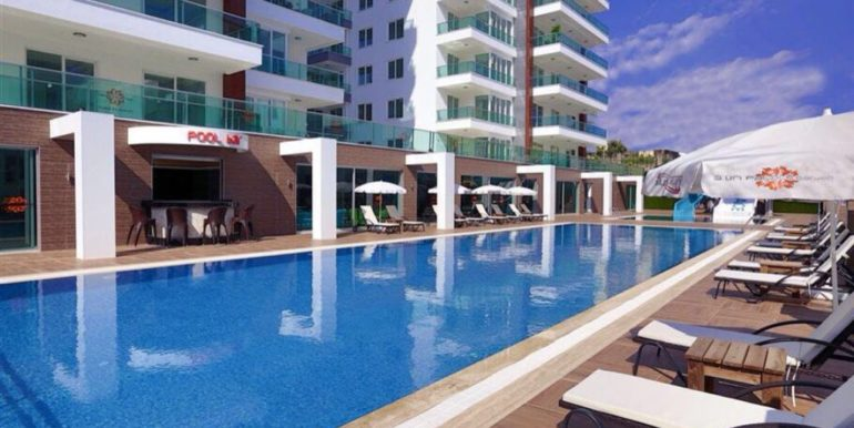 96000 euro Apartment For Sale in Alanya