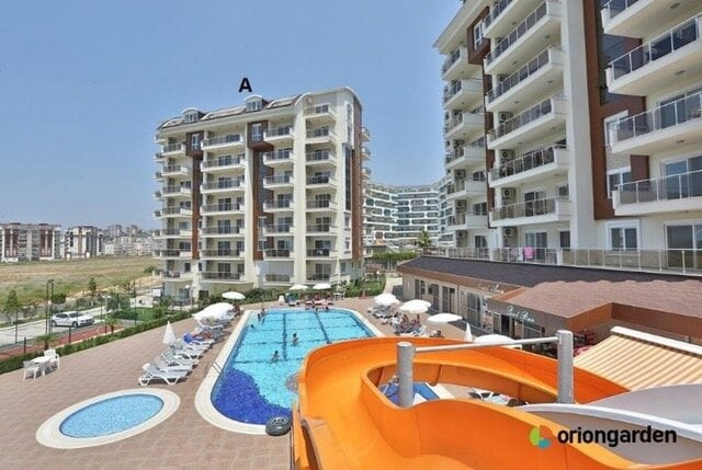 83000 Euro Apartment For Sale in Alanya