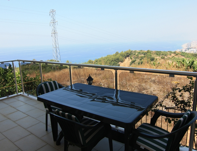 Sea View Apartment For Sale in Alanya 49900 Euro