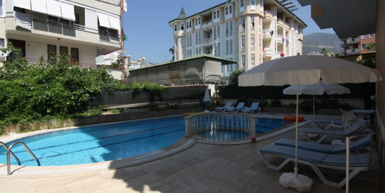 55000 Euro Centrum Apartment For Sale in Alanya