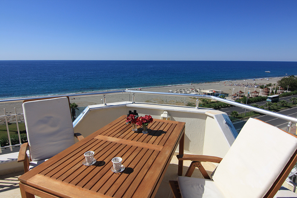 179000 Euro Penthouse For Sale in Alanya Mahmutlar