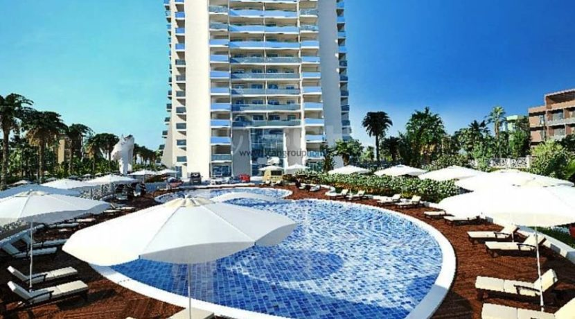 Turkey Mahmutlar Alanya Apartment flat for sale 49500 € 2