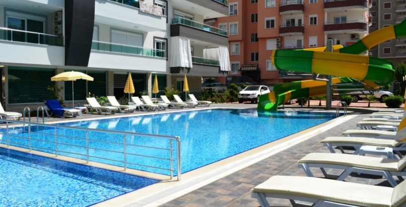 Cheap flat property for sale in Alanya Mahmutlar 45000 Euro