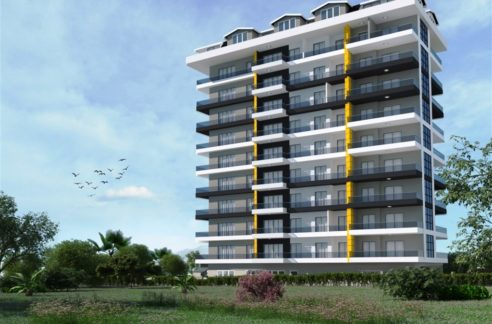 New apartment for sale Alanya Mahmutlar 79.000 Euro