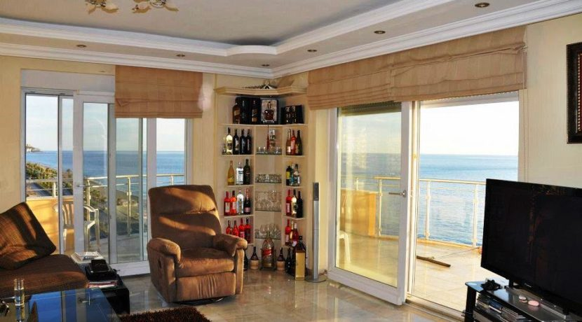 Alanya Sea front Coastal Property for sale 195.000 Euro