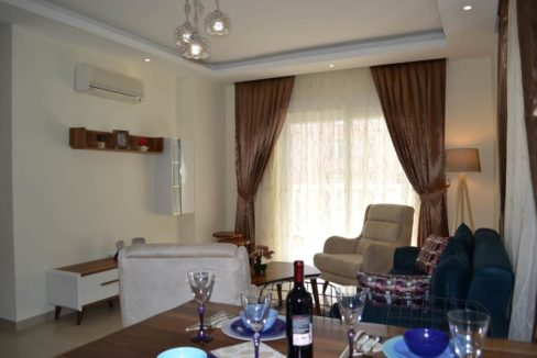 3 Room cheap apartment for sale Alanya Turkey 58.000 Euro