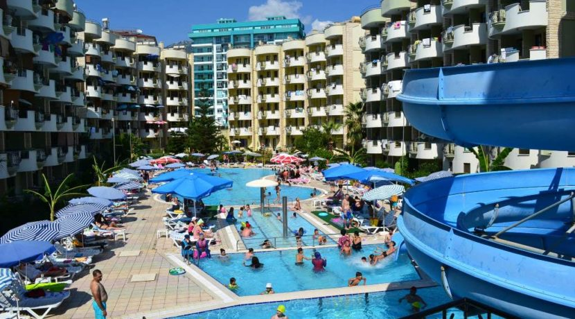 Alanya Turkey for sale apartment beachfront 80.000 Euro