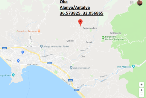 Turkey Alanya Oba Private Villa Home for sale 165.000 Euro