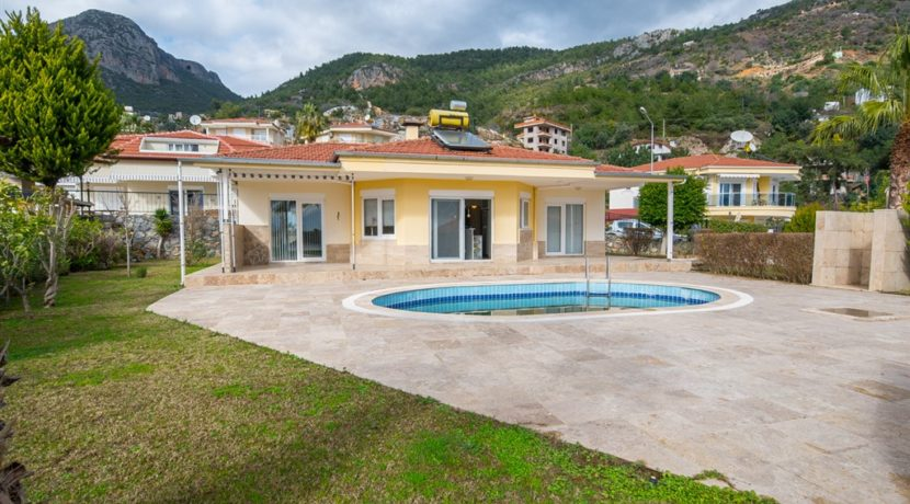 Turkey Alanya Oba Private Villa Home for sale 149.000 Euro
