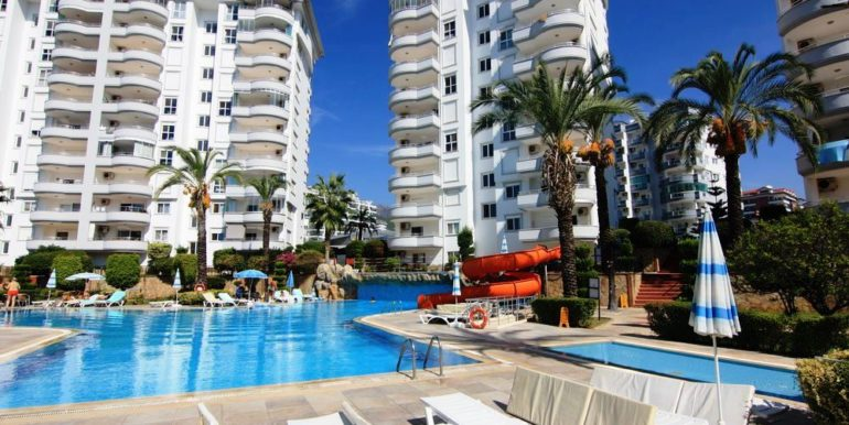 galaxi 3 residence apartment alanya oba for sale