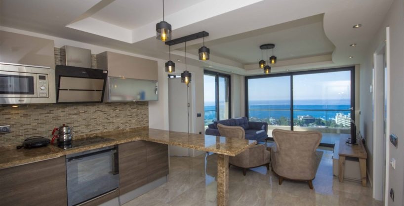 Admiral Premium Residence Apartment in Alanya For Sale 165000 Euro