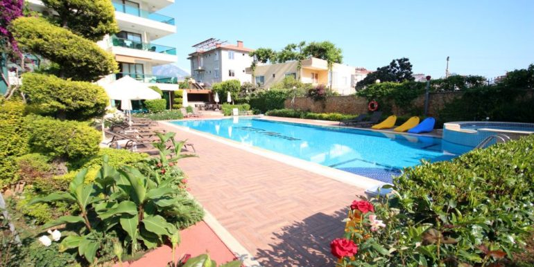 Alanya Flower Garden Penthouse For Sale 95000 Euro