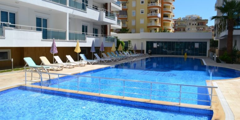 alanya 3 bedroom residence apartment for sale 81000 euro