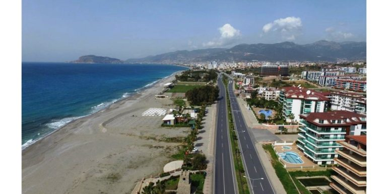 Alanya Beach Apartment With Amazing Seaview For Sale 72000 Euro