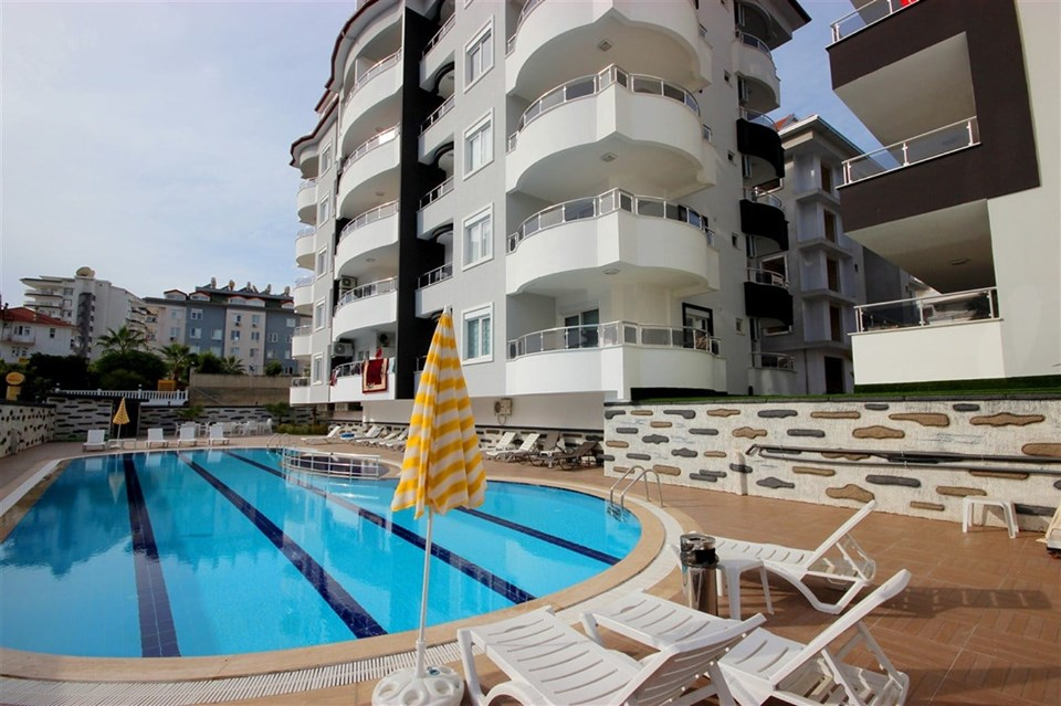 Alanya Beach Centrum Apartment for sale 69900 Euro