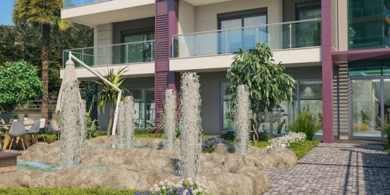 alanya luxury new apartment for sale 76000 euro