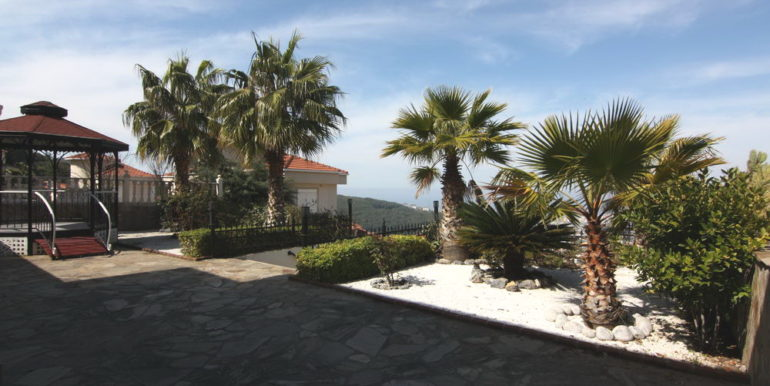 alanya privat villa with privat pool 500 m2 plot