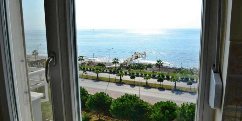 beachfront apartment with seaview for sale 132.000 euro