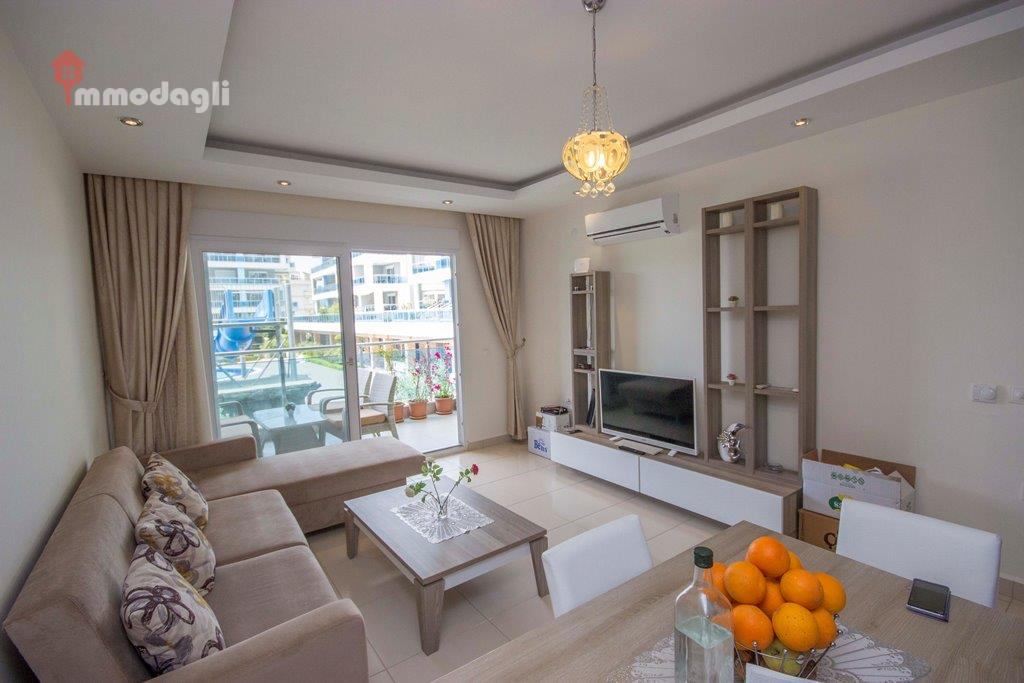Cyristal River Residence Apartment Alanya Oba for sale