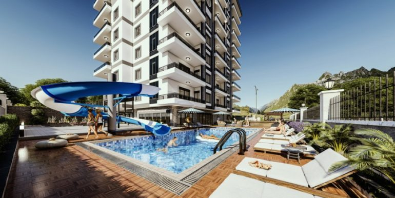 New Apartments Alanya For Sale From  56000 Euro