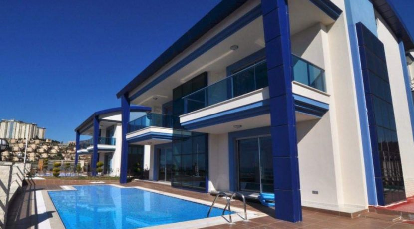 new Villa Alanya Mit Meerblick & Privat Pool 308