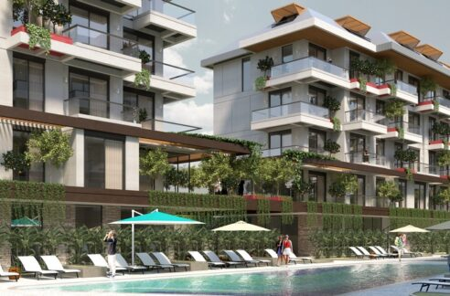 Ongoing Modern Designed Apartment Project In Oba