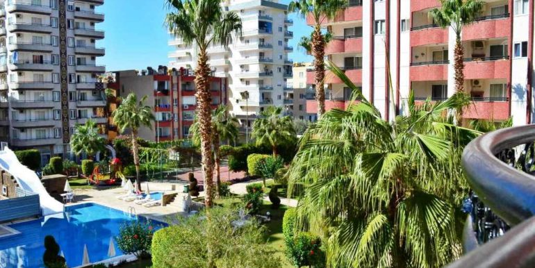 Residential Alanya Apartment Furnished For Sale 75.000 Euro