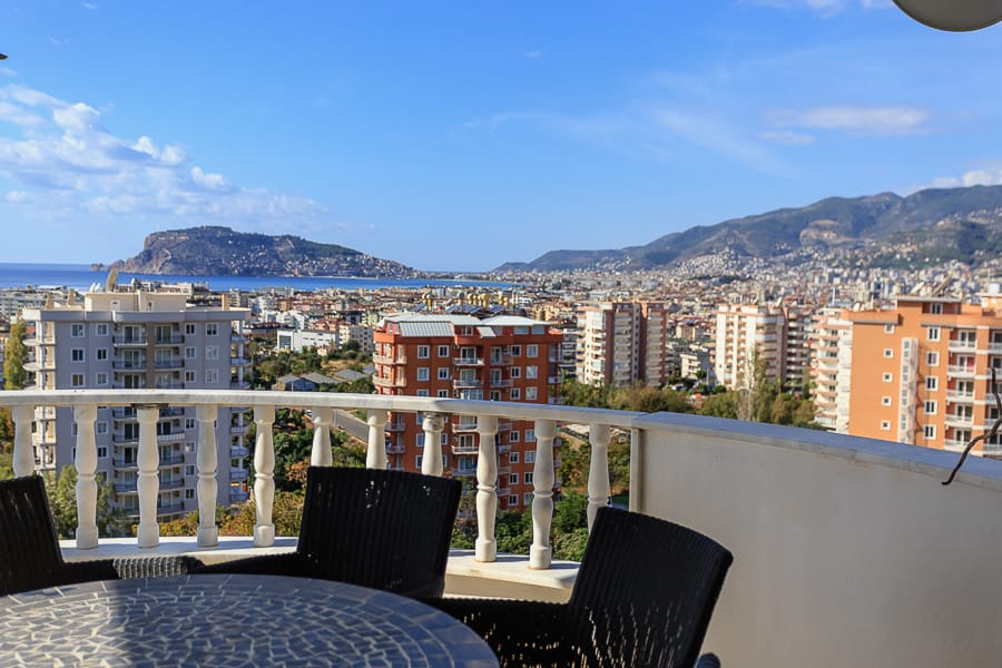 saeview residence apartment for sale alanya tosmur