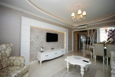 Sea View Apartment In Luxury Residence Alanya For Sale